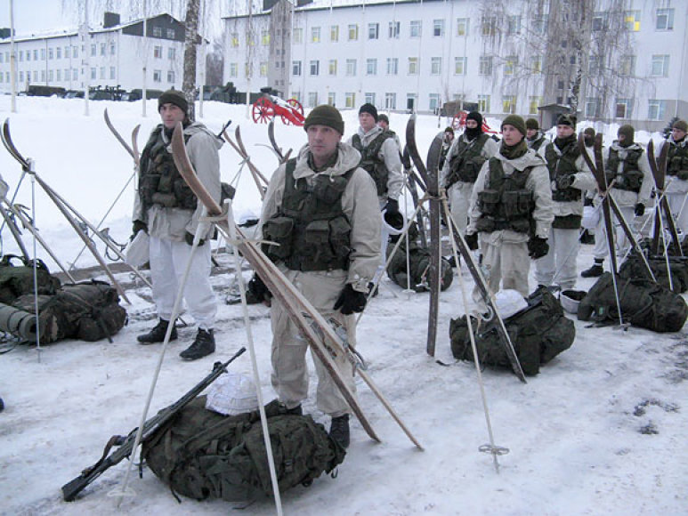 Paskutinis pasiruošimas prieš žiemos kurso pratybas