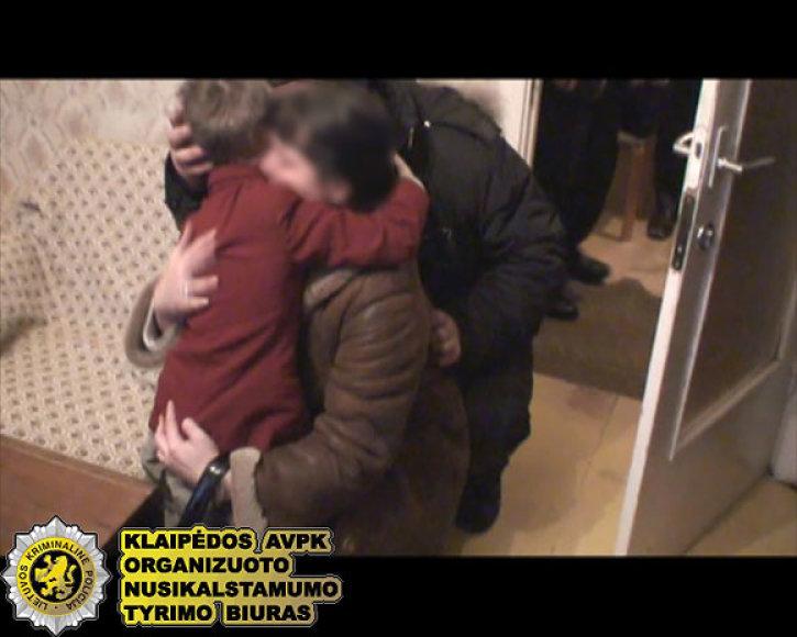 Vaiko išlaisvinimo operacija Klaipėdoje