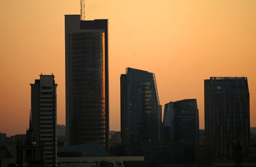 Saulėtas rytas Vilniuje
