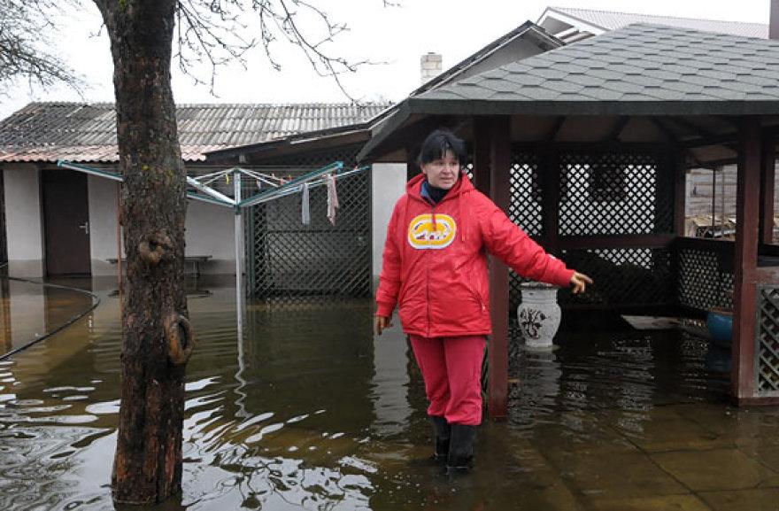 Vanduo ponios Irinos kiemą semia nuo kovo 22 dienos