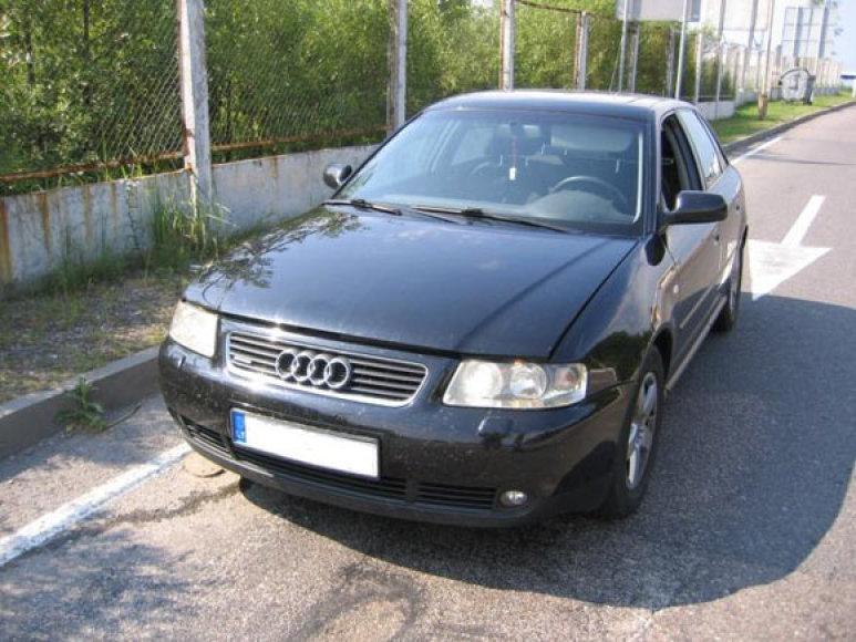 Vokietijoje vogtas automobilis