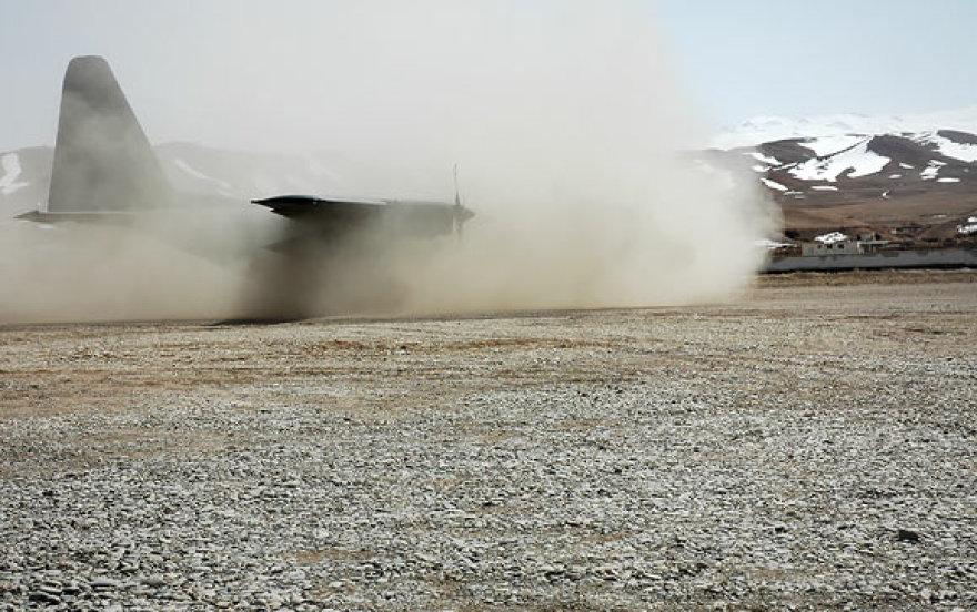 Čagčarano oro uoste nusileido karinis transporto lėktuvas (archyvo nuotr.)