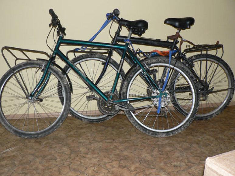 Sulaikyti panevėžiečių dviračiai