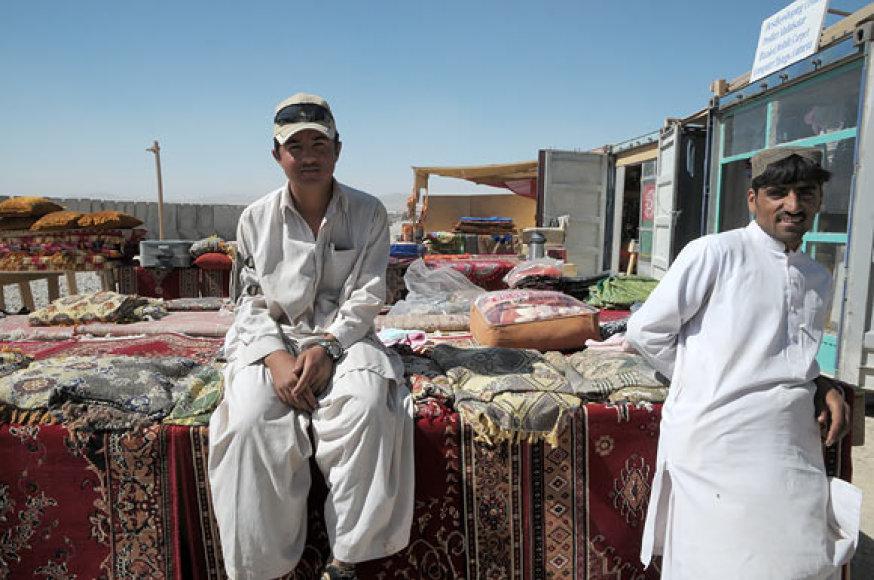 Kilimų pardavėjai Zabulo provincijoje