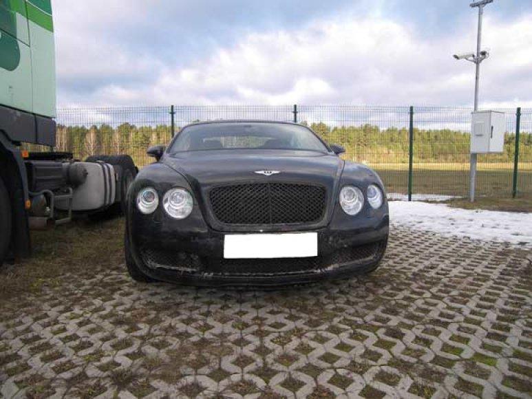 """Sulaikytas """"Bentley Continental GT"""""""