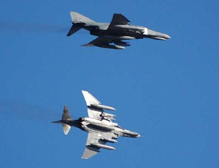 """Vokiečių naikintuvai F-4F """"Phantom"""""""
