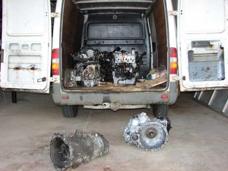Vogtas automobilio variklis
