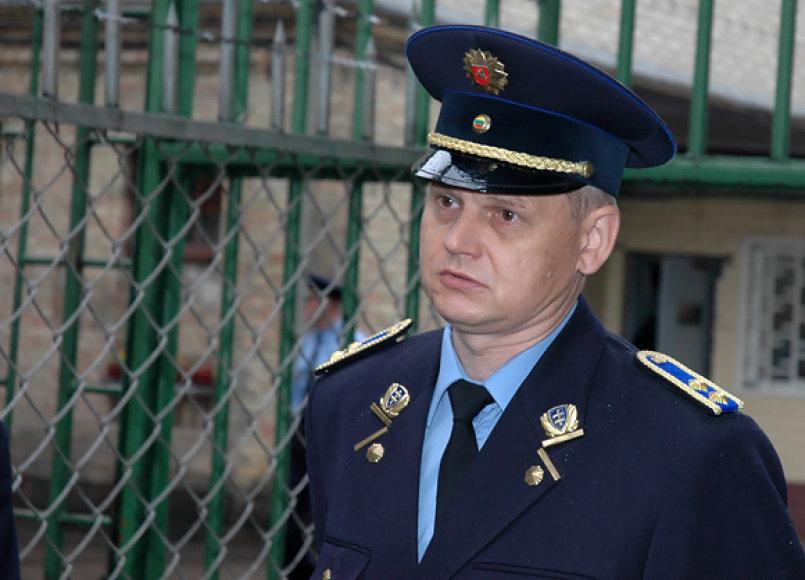 Lukiškių tardymo izoliatoriaus – kalėjimo vadovas Arvydas Ižička