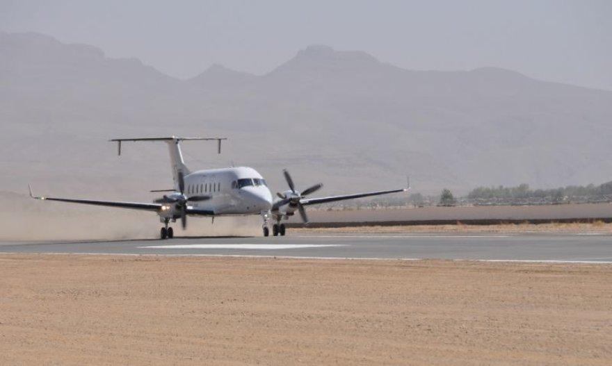Rekonstruotas Čagčarano oro uostas