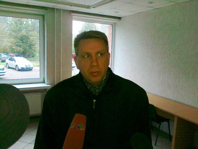 Darius Valys kelių policijoje