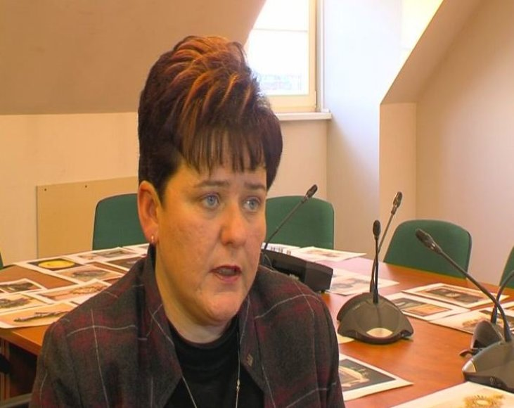 Kultūros paveldo departamento direktorė Diana Varnaitė