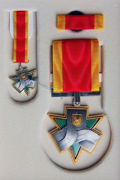 Šiais metais Santakos garbės ženklai jau buvo įteikti 15 kauniečių.