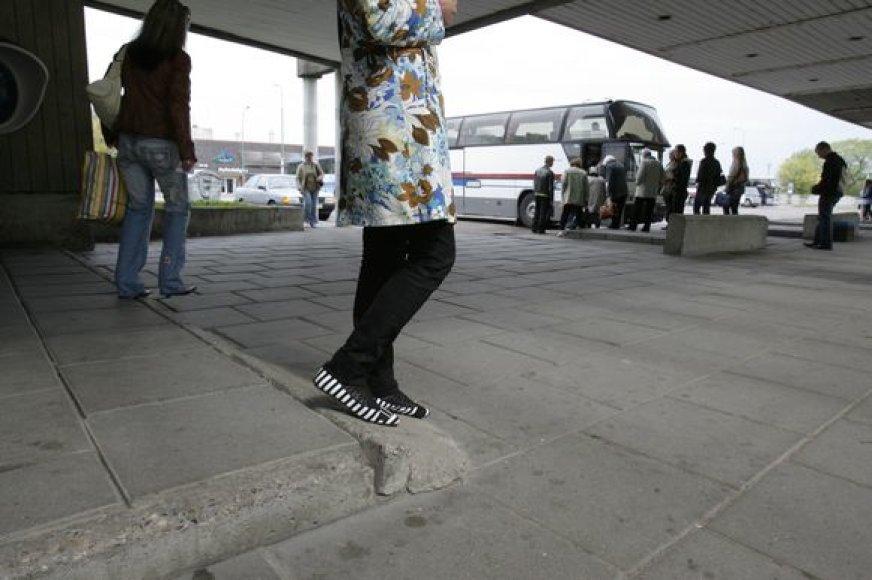 Klaipėdos autobusų stotis artimiausiu metu bus nugriauta.