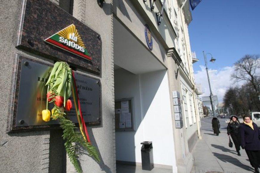 Artimiausiame posėdyje Vilniaus miesto savivaldybė svarstys ar patenkinti Lietuvos Sąjūdžio prašymą jo patalpas perduoti valstybei.