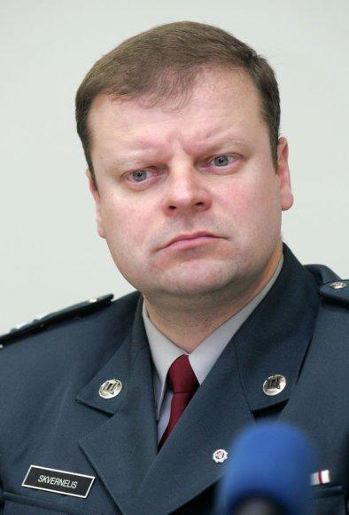 Generalinio komisaro pavaduotojas Saulius Skvernelis