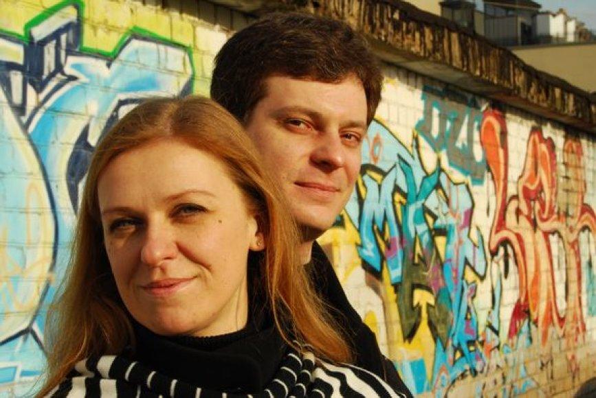 Eglė ir Aidas Strimaičiai penktadienį skambins nakties melodijas.