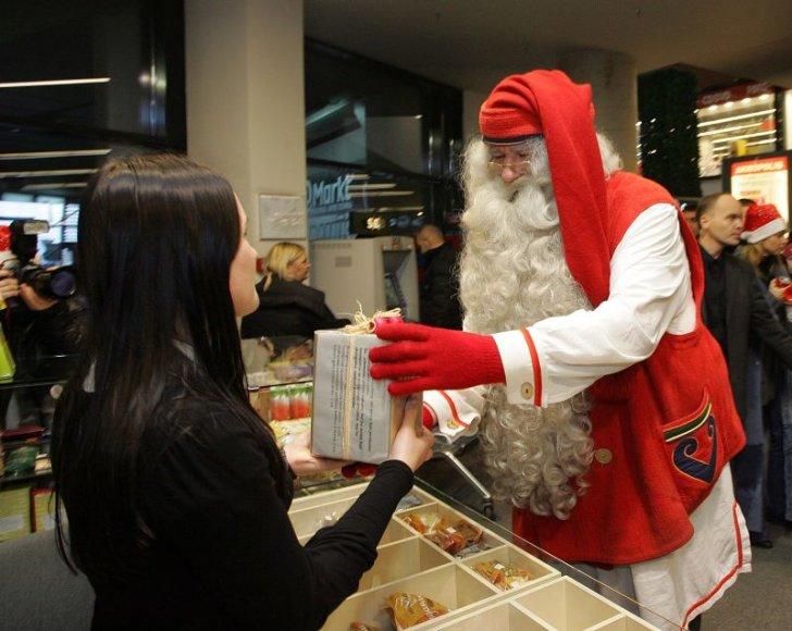 Tikrasis Kalėdų Senelis