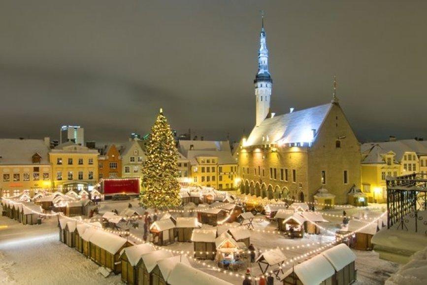 Kalėdinis turgus Taline
