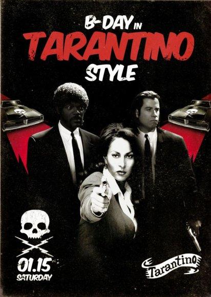 Gimtadienis Tarantino stiliumi!