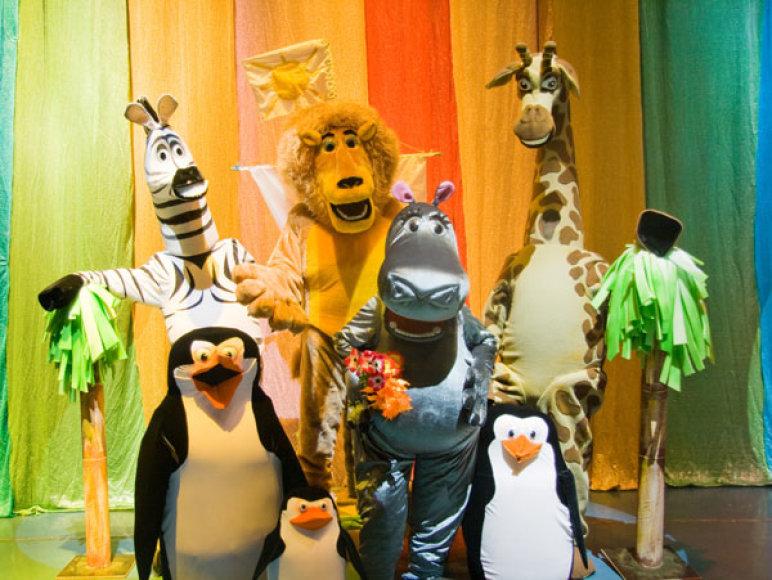 Mažuosius teatro gerbėjus kvies nuotykiai Madagaskare.
