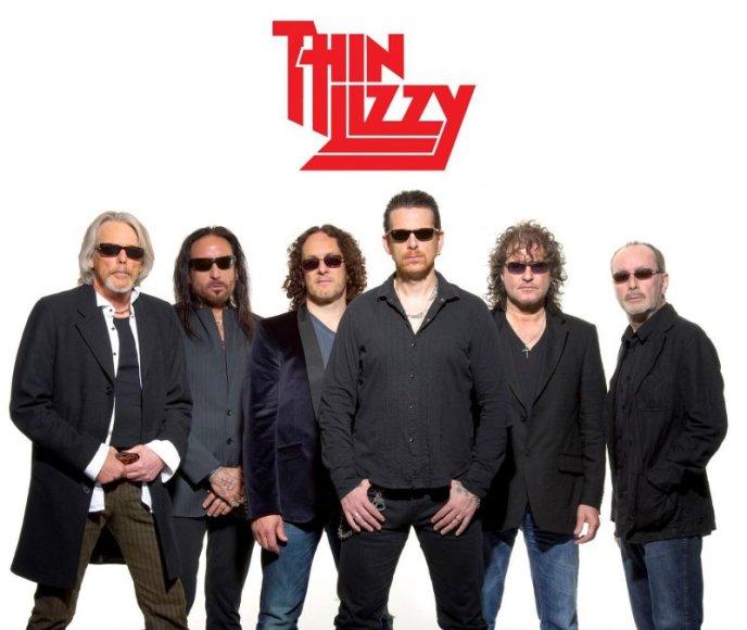 """""""Thin Lizzy"""" koncertas Vilniuje – dovana kelių kartų klasikinio roko gerbėjams."""