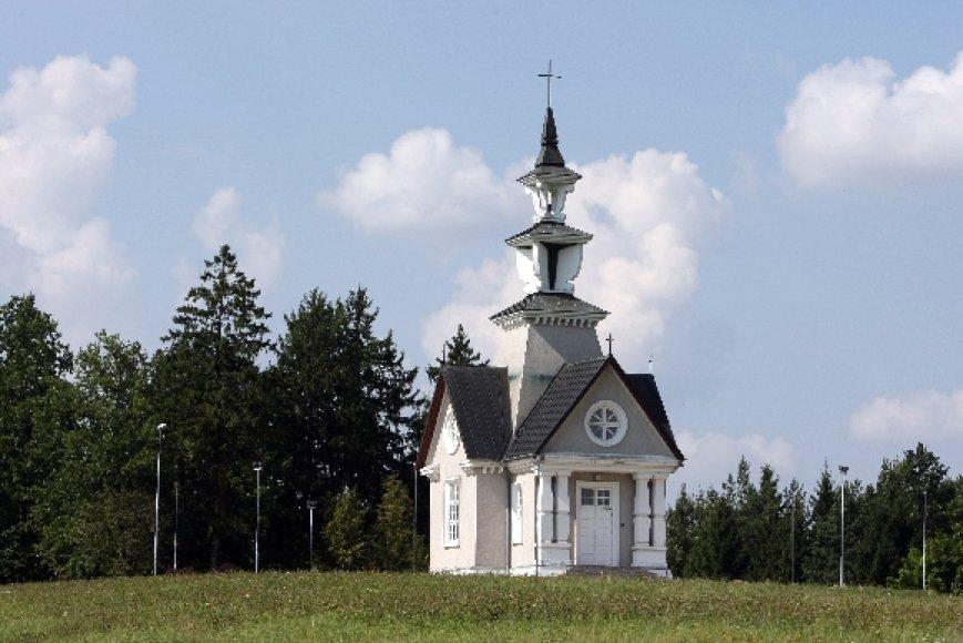 Rainių Kančios koplyčia, pastatyta Rainių kankinių atminimui.