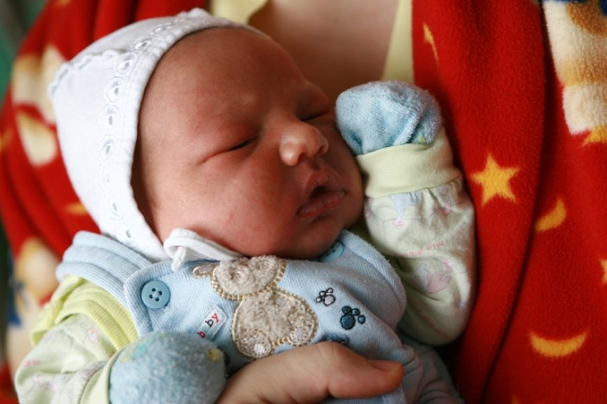Naujųjų naktį gimęs kūdikis