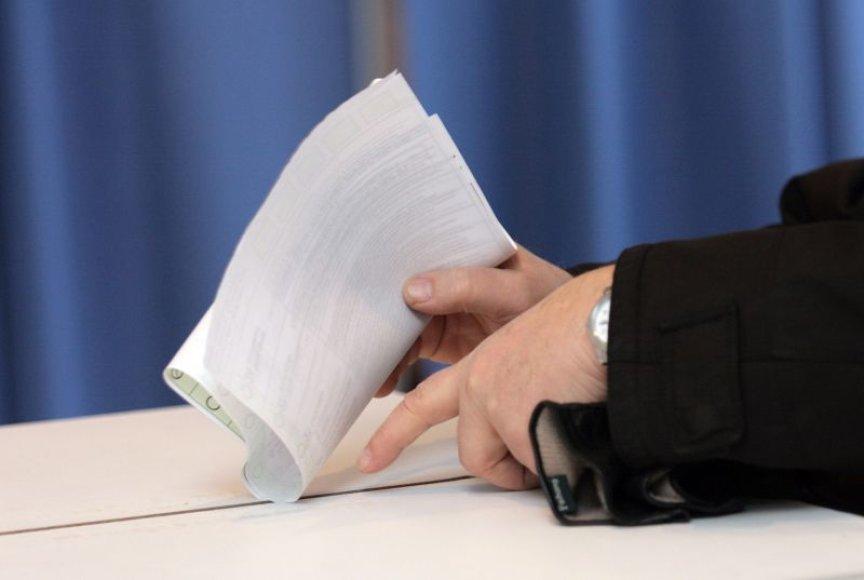 Seimo rinkimai artėja