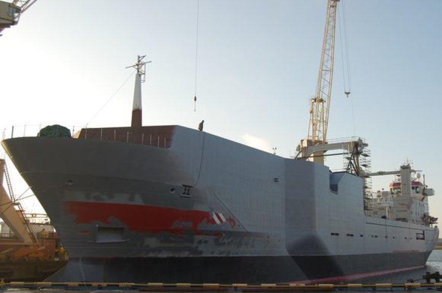 Laivas po rekonstrukcijos.