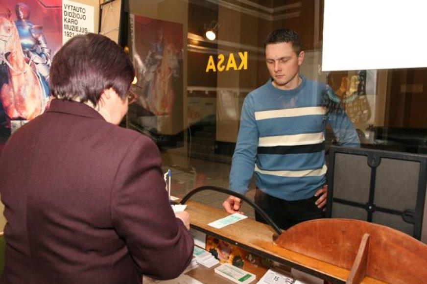 Muziejų bilietai brango palyginus nedaug, tačiau ant ekskursijas užsisakinėjantys lankytojai labiau pajus kainų šuolį.