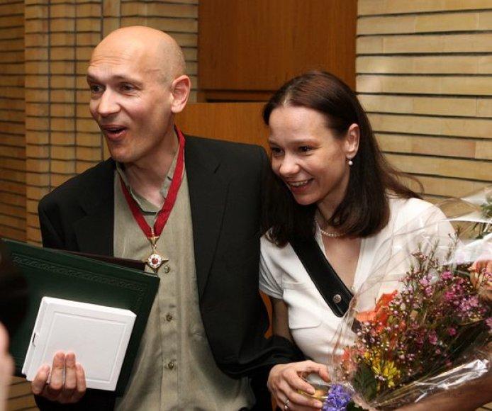 Eglė Špokaitė ir Povilas Budrys