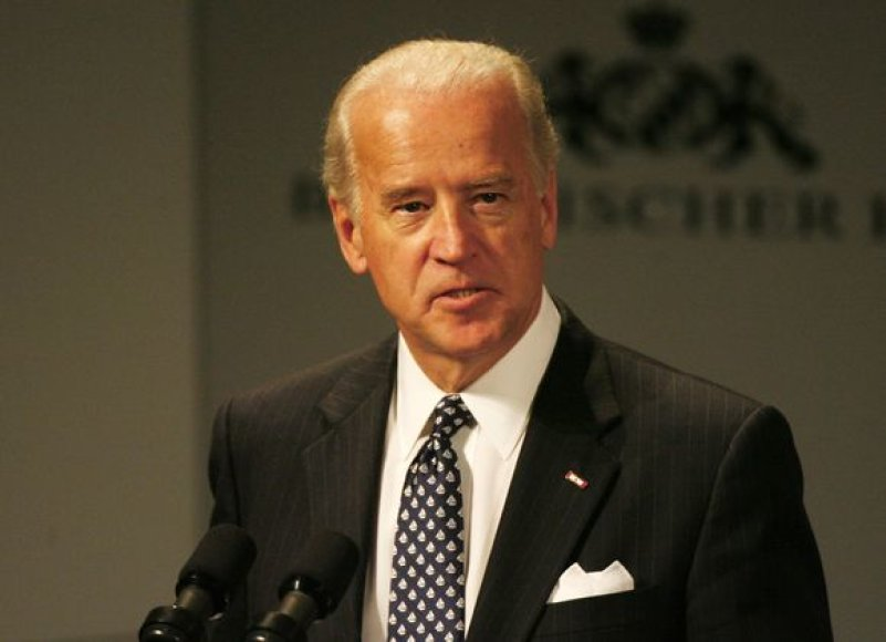 JAV viceprezidentas Joe Bidenas