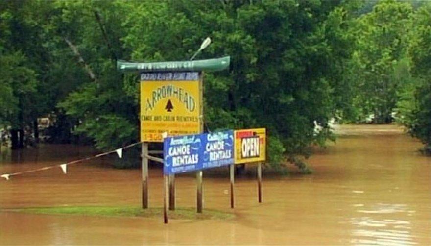 Potvynis Arkanzase
