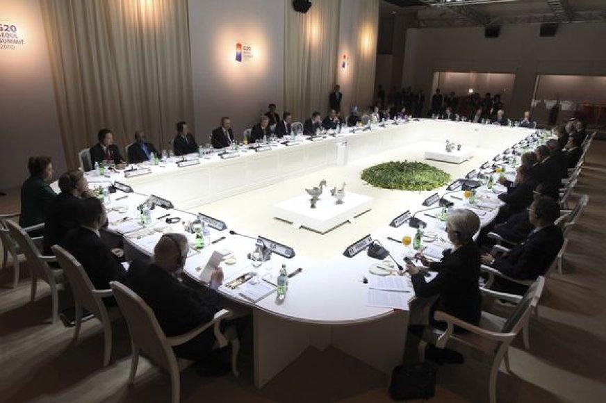 G20 susitikimas Seule