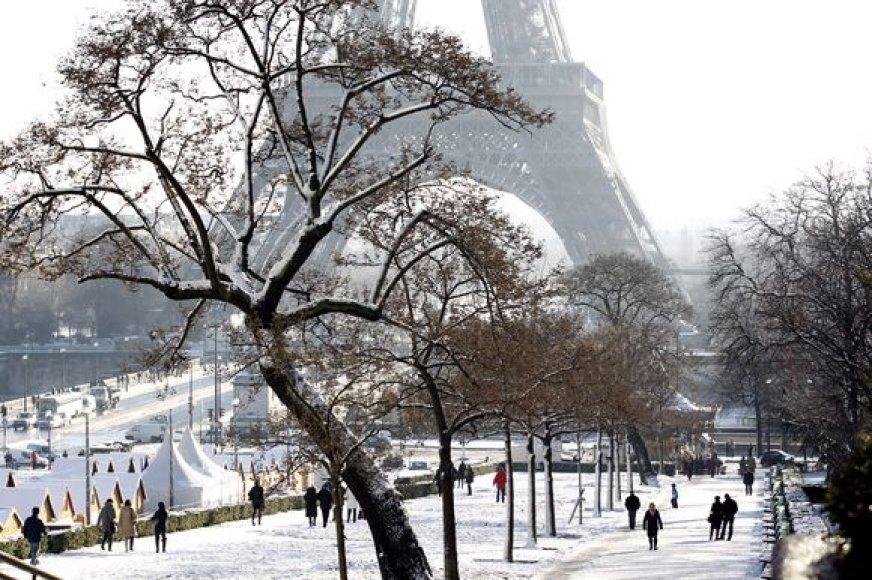 Apsnigtas Paryžius