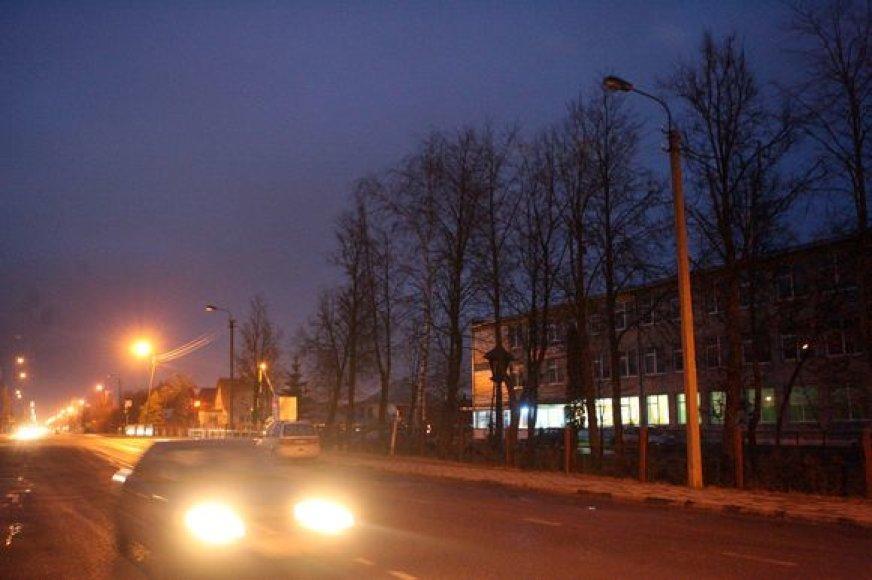 Gatvių apšvietimas