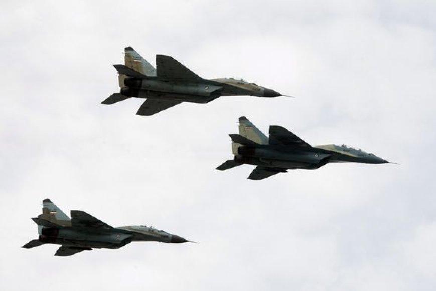 """Naikintuvai """"MiG-29"""""""