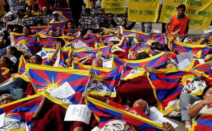 Tibeto aktyvistai