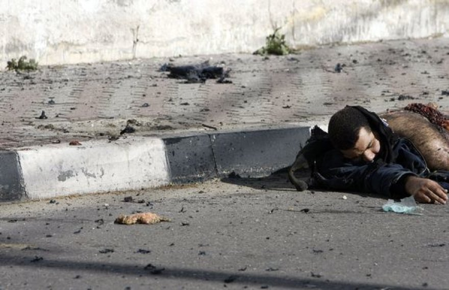 """Izraelio sausumos pajėgos nukovė aukštą """"Hamas"""" pareigūną Amirą Mansį."""