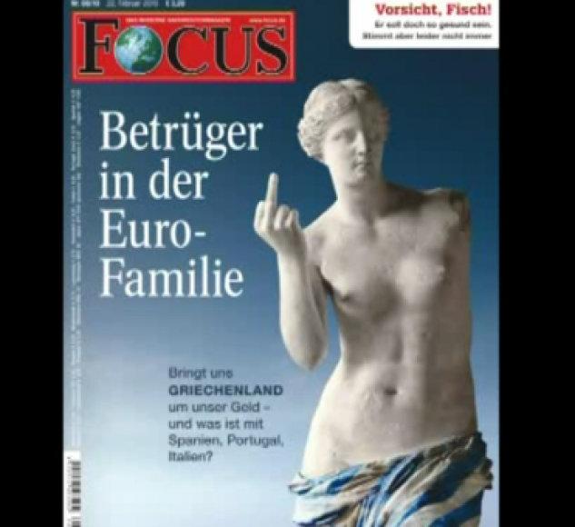 "Žurnalo ""Focus"" viršelis"