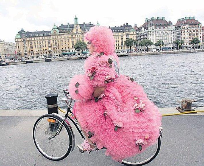 """Sukūrę tokį prekės ženklą kaip """"Volvo, švedai labai mėgsta tiesiog paprastą dviratį."""