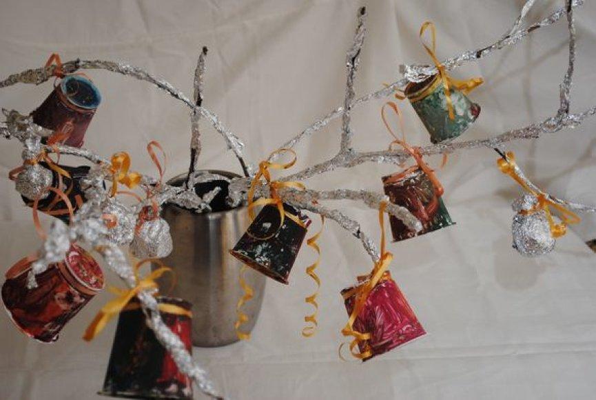 Toks kalėdinis medelis gali puikiai pakeisti tradicinę eglutę.