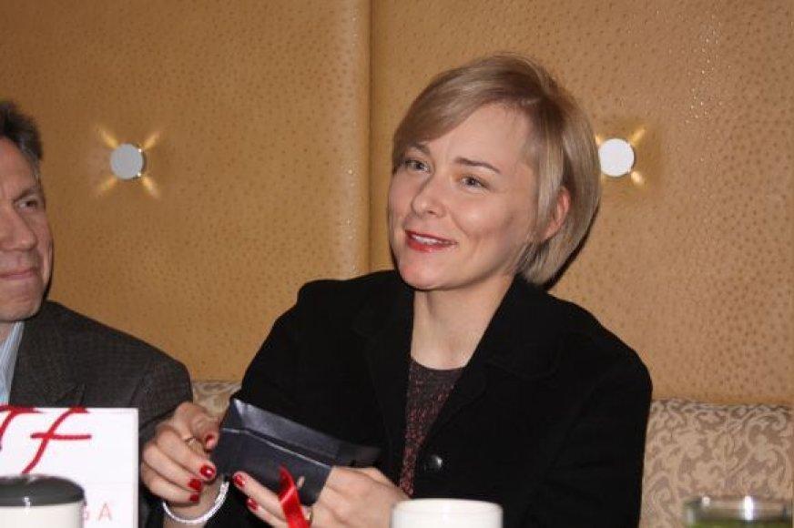 Žinoma juvelyrė J.Karčiauskaitė–Lago skaito ne tik grožinę literatūrą, bet ir psichologines, profesines knygas.