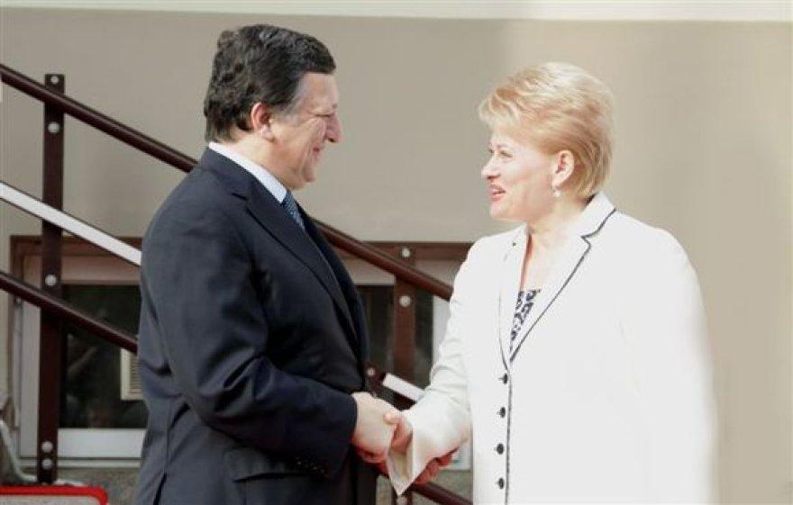 Dalia Grybauskaitė ir Žozė Manuelis Barosas