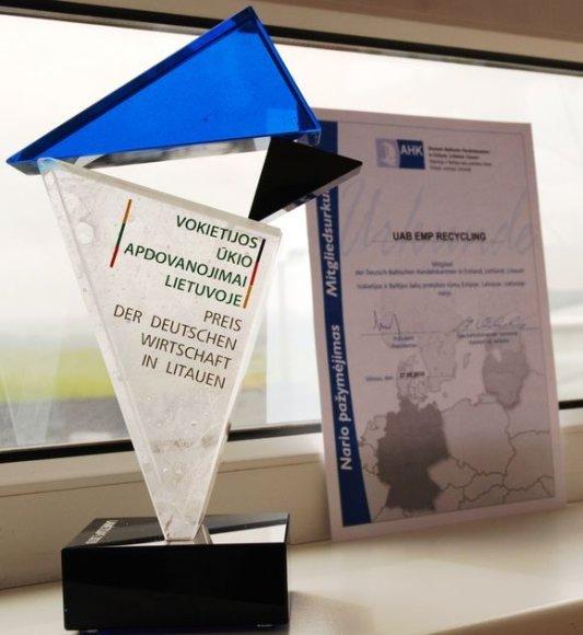 Vokietijos ūkio apdovanojimas