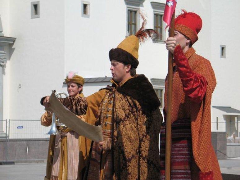 Ceremonijos akimirka