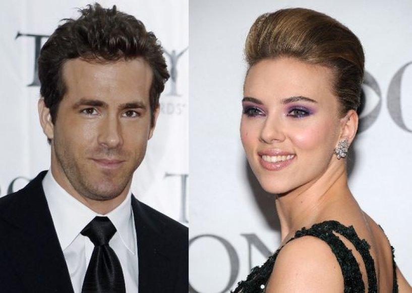 Ryanas Reynoldsas ir Scarlett Johansson