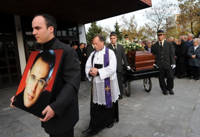 Ivo Pukaničiaus laidotuvės
