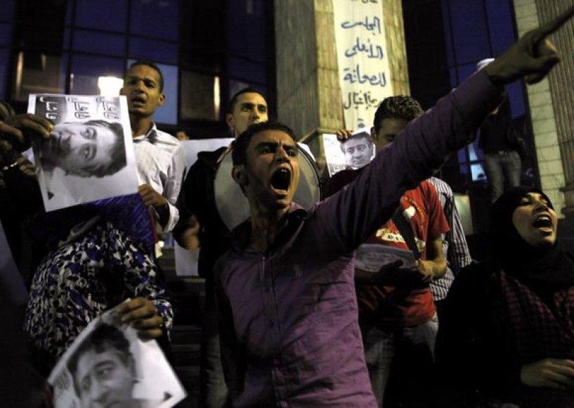 Egipte prasidėjo neramumai.