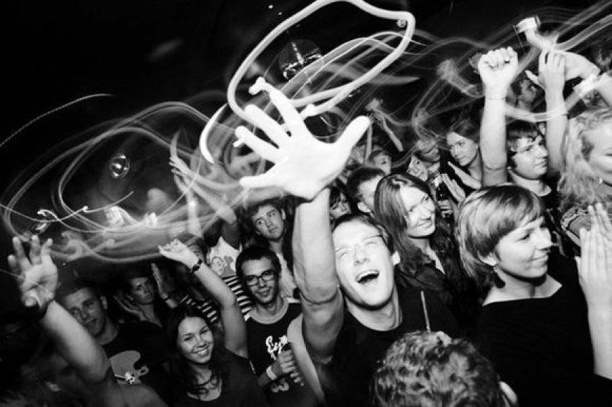 """""""Partymeister"""" vakarėlio akimirka"""